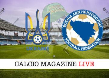 Ucraina Bosnia Erzegovina cronaca diretta live risultato in tempo reale
