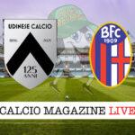 Udinese Bologna cronaca diretta live risultato in tempo reale