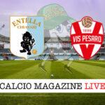 Virtus Entella Vis Pesaro cronaca diretta live risultato in tempo reale