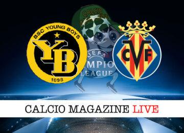 Young Boys Villareal cronaca diretta live risultato in tempo reale