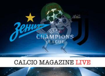 Zenit Juventus cronaca diretta live risultato in tempo reale